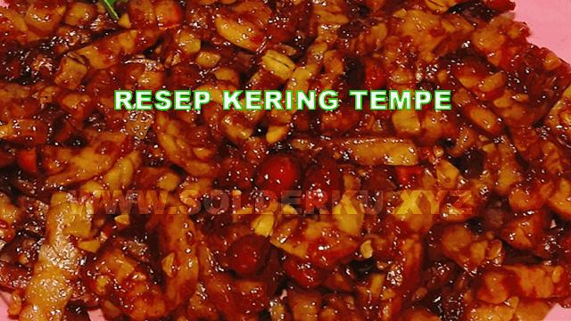resep kering tempe