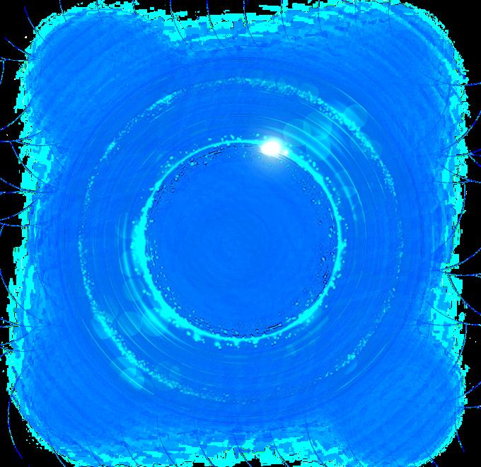 Light Blue, Blue light effect background decoration, round blue bokeh graphy, blue, color png by: pngkh.com