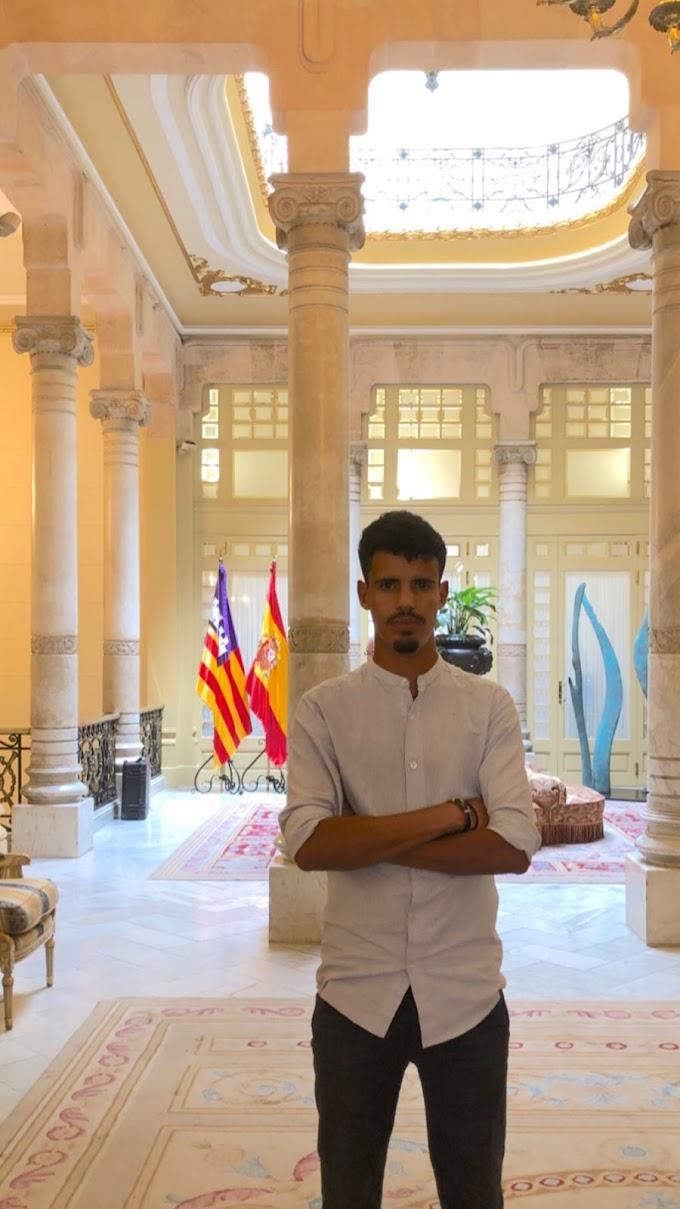 """Joven saharaui nombrado como portavoz de un Partido de izquierdas; """"ACTÚA BALEARES"""""""