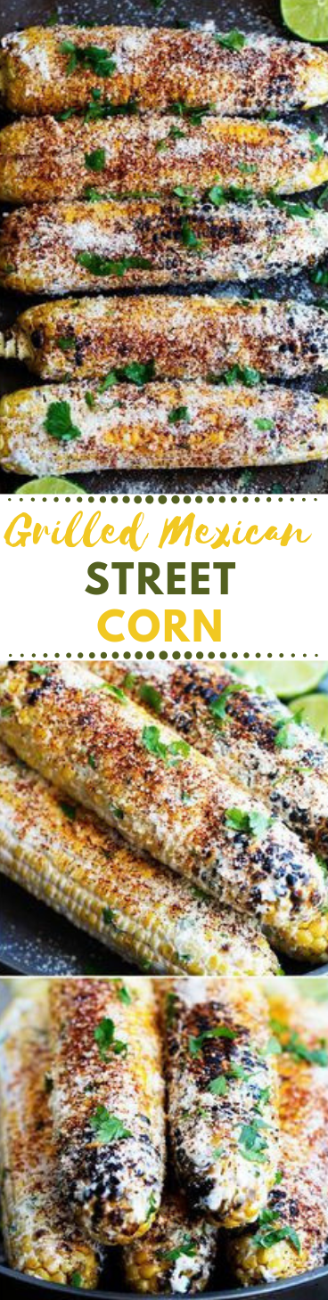 GRILLED MEXICAN STREET CORN #dinner #vegan #healthy #spagheti #easy #lunch