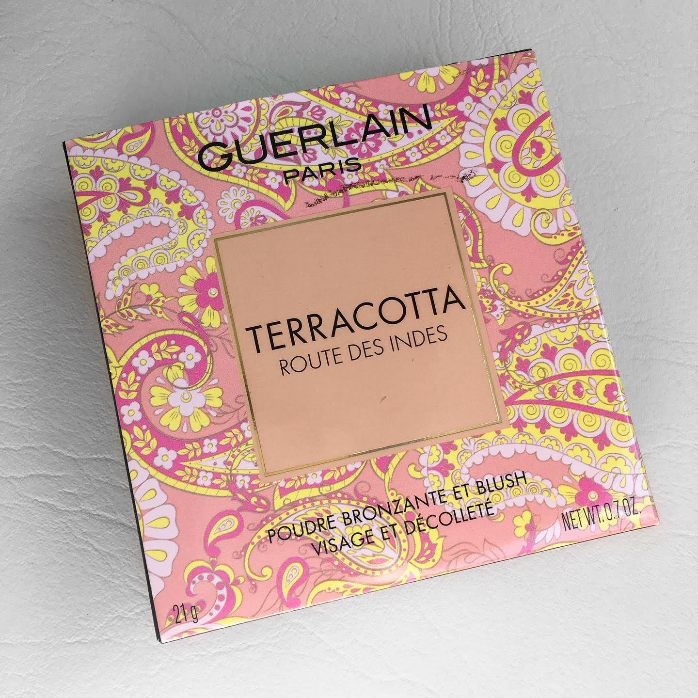 BRONZER E BLUSH GUERLAIN TERRACOTTA ROUTE DES INDES