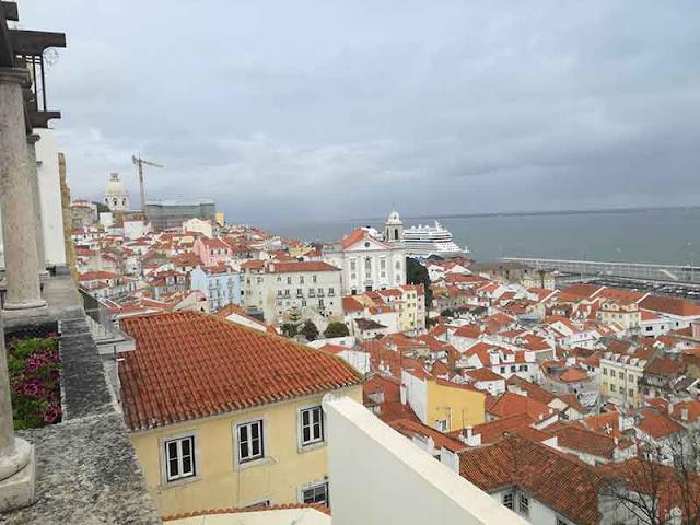 Vista de Lisboa desde mirador