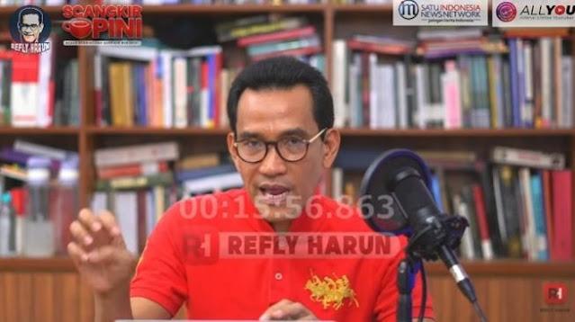 Pilpres 2024 Makin Panas, Refly Harun Sebut Hanya akan Dikuasai Koalisi Jokowi
