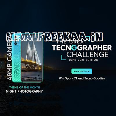Photo Contest Win Tecno Spark 7 FREE