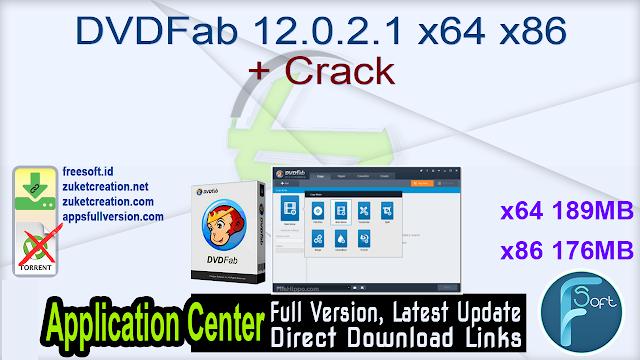 DVDFab 12.0.2.1 x64 x86 + Crack