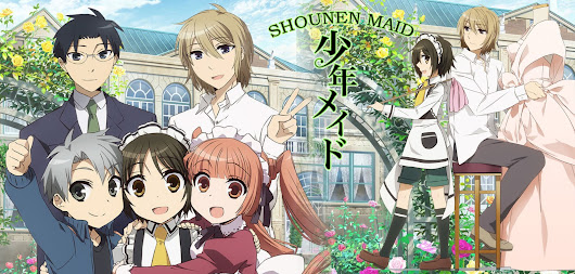 "Anime ""Shounen Maid"""