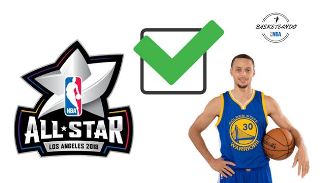 Stephen Curry ha expresado su felicidad al enterarse de los cambio para el All Star Game 2018. Enterate aquí de lo que dijo.