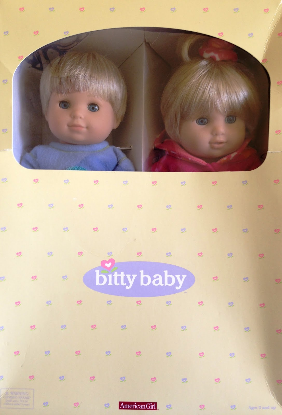 fe01309e2 Once Upon A Doll Collection   American Girl Bitty Twins Doll Review