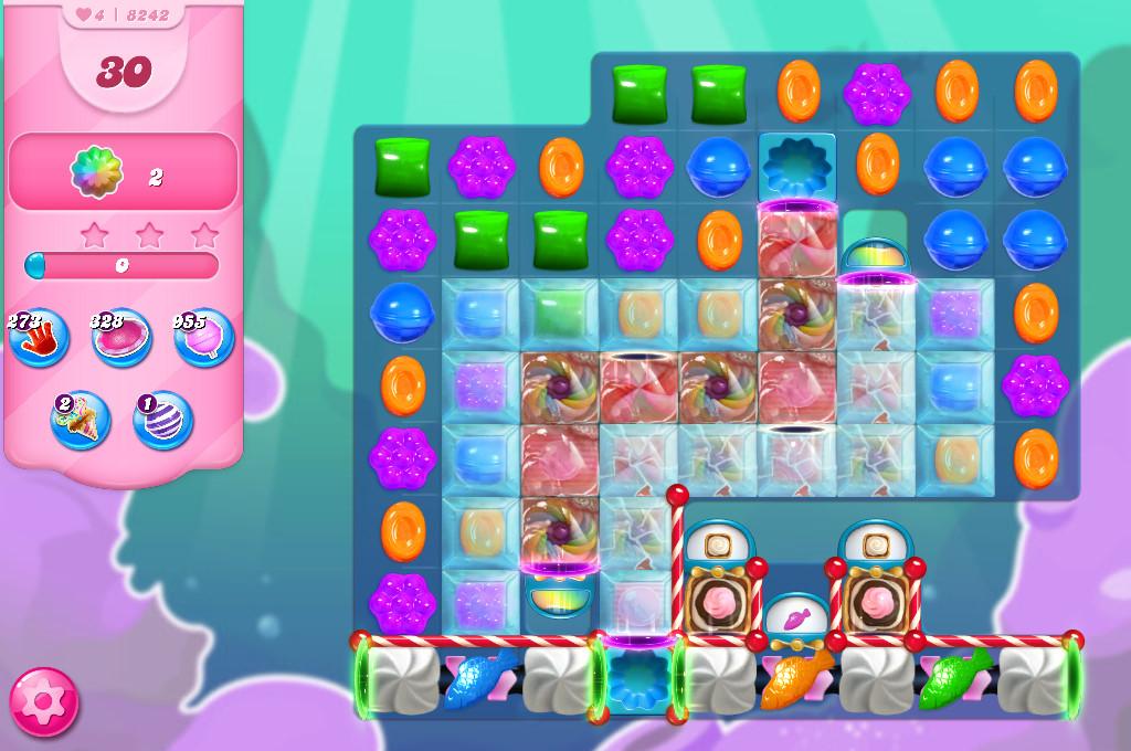 Candy Crush Saga level 8242