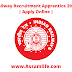 Railway Recruitment Apprentice 2020 || Apply Online
