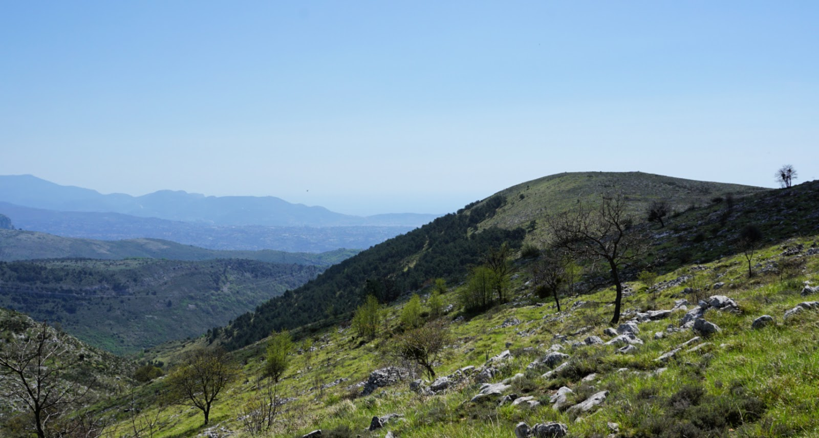 Puy de Naouri viewed from trail