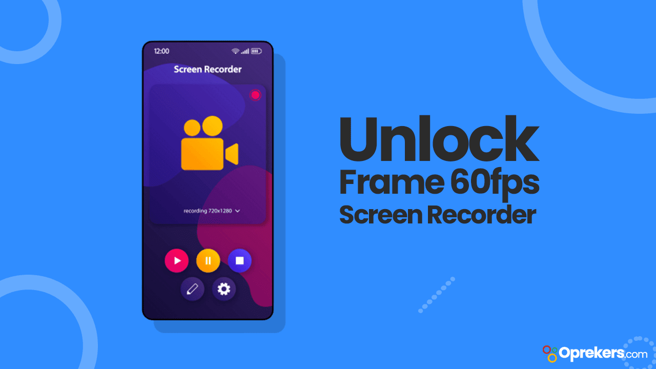 Cara Unlock Frame 60fps pada Screen Recorder MIUI