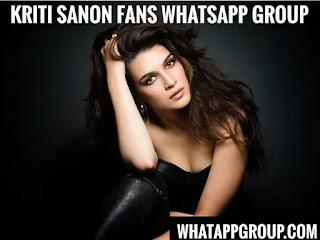Kriti Sanon Fans WhatsApp Group Links