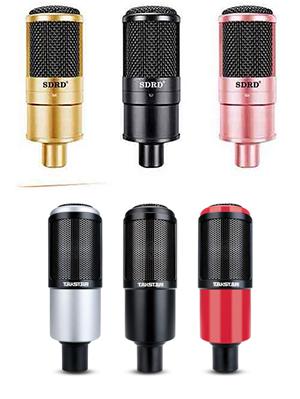 Mic thu âm SDRD SD203, mẫu mic livestream có độ nhạy cao