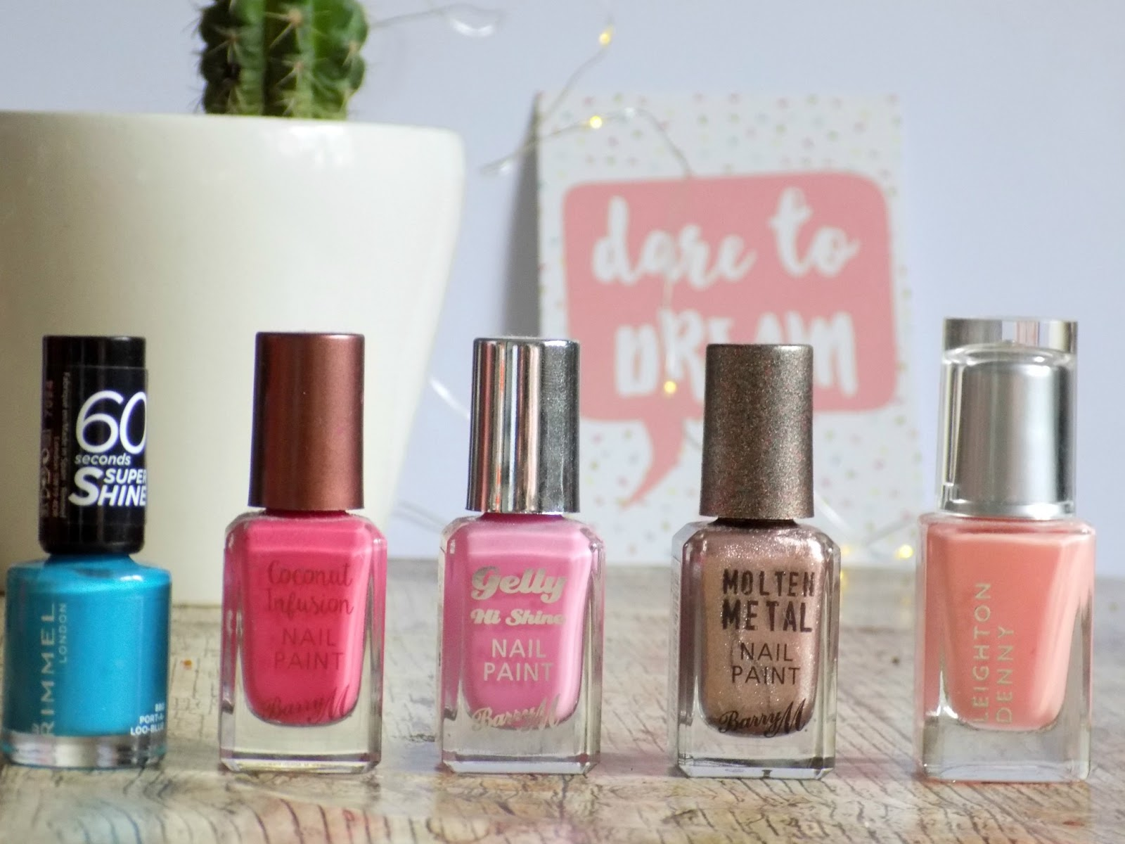 Barry M, Rimmel, Leighton denny