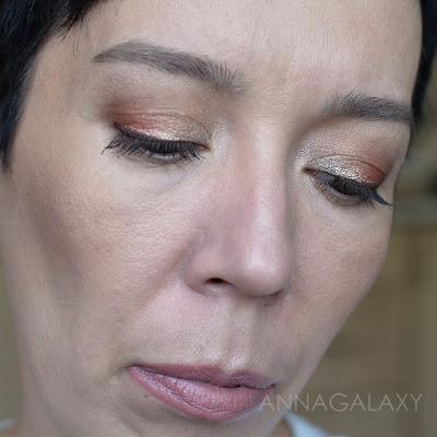 Красивый макияж с Палетка теней для век Lamel Professional Eyeshadow 16 Shades Of Brown