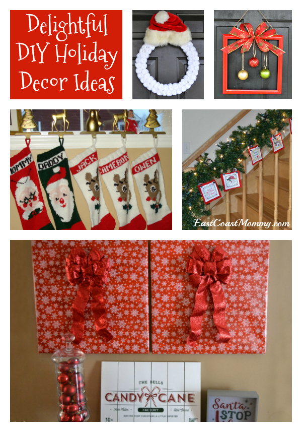 East Coast Mommy Easy Diy Christmas Decor Ideas That You