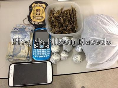 Elemento é preso por tráfico de droga em Petrolina - PE