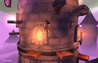 لعبة castle of illusion starring mickey mouse