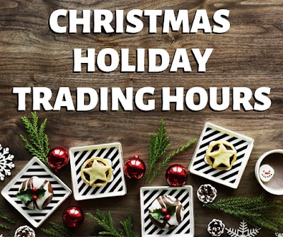 Christmas holiday trading hours