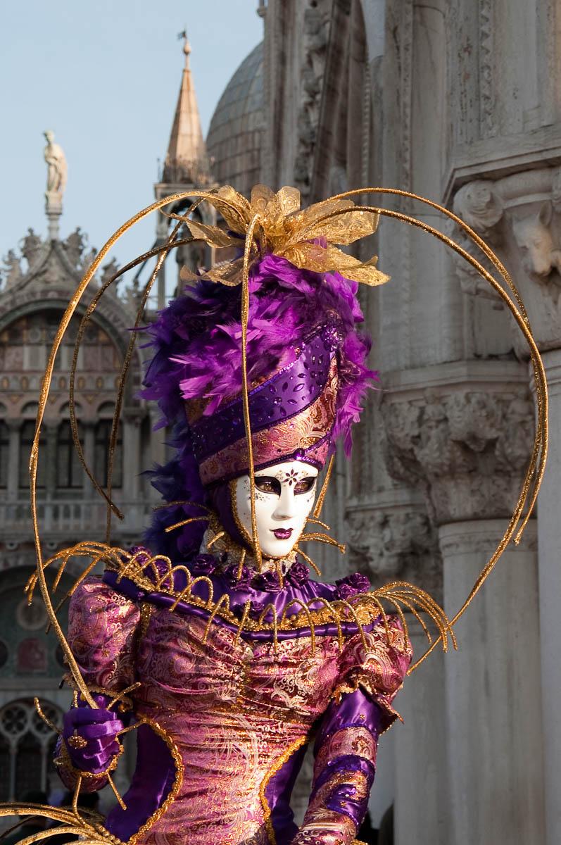 Mask, Venice Carnival 2011, Venice, Veneto, Italy