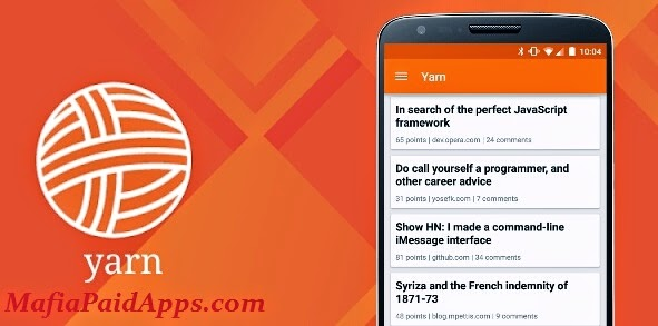 Yarn for Hacker News Premium v1 6 3 Apk | MafiaPaidApps com