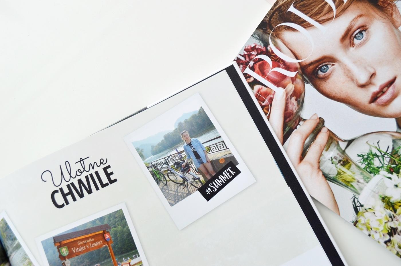 fotoksiążka printu album z wakacji