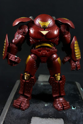 Marvel Universe Iron Man 2 Hulkbuster Front View