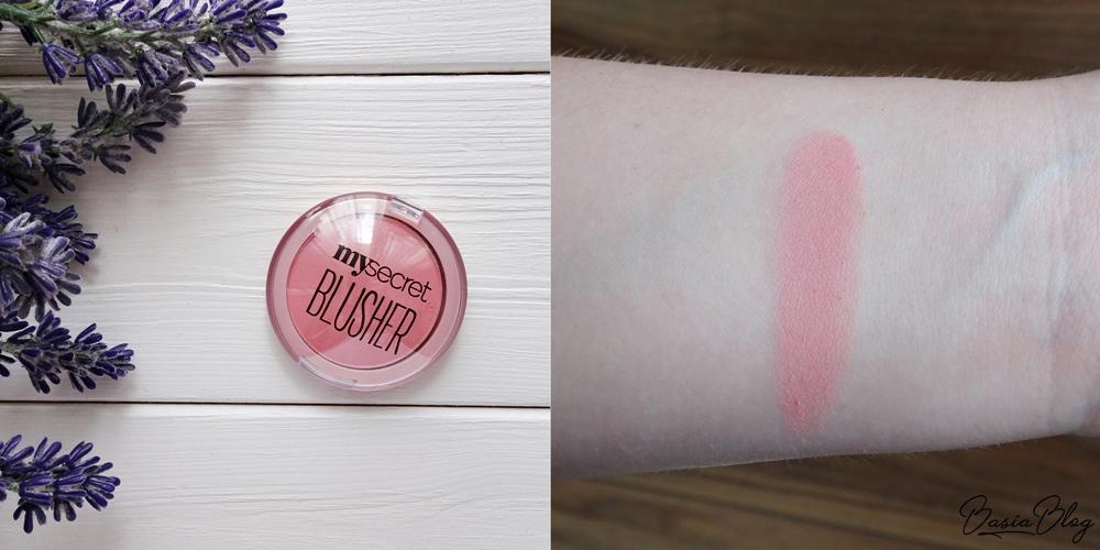 róż do policzków My Secret Blusher 101 Cool Pink