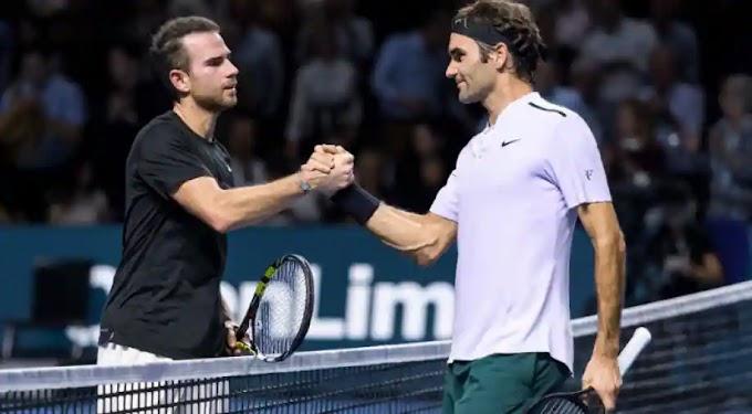 Watch Roger Federer vs Adrian Mannarino Live Match