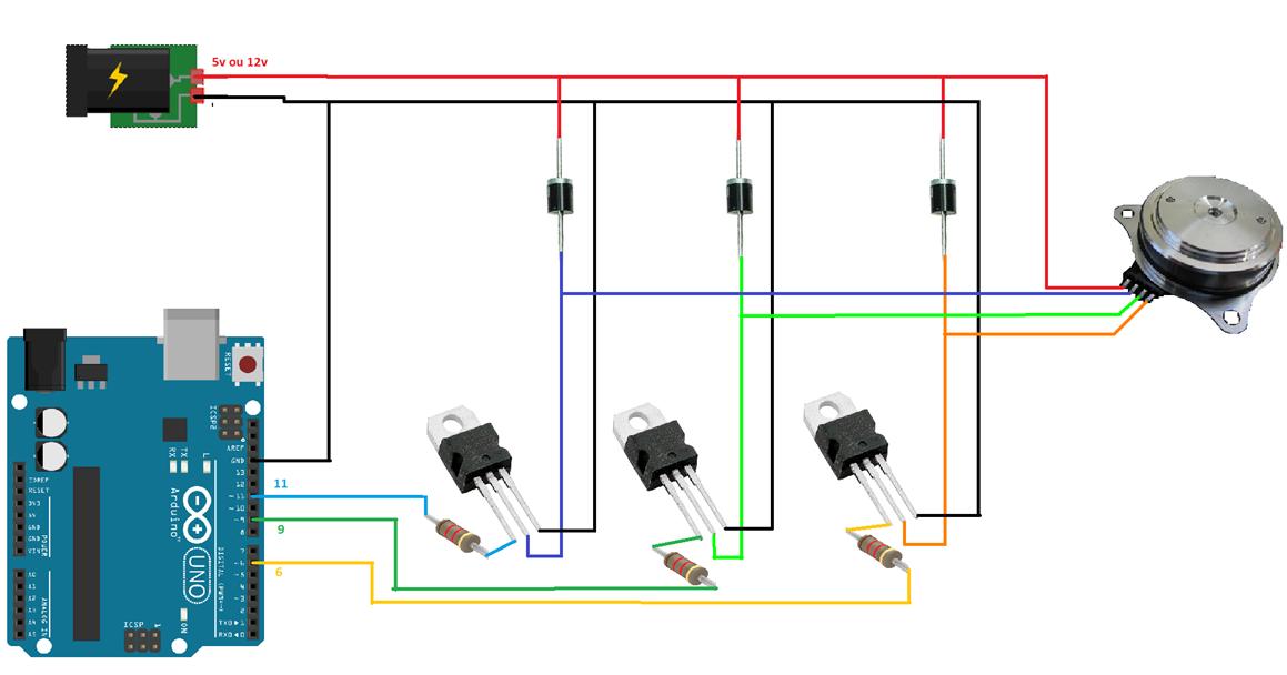 Motor de HD com Arduino - Fernando K Tecnologia