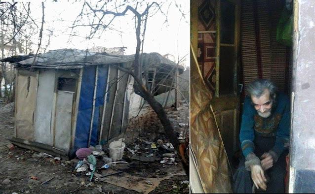 Двое молодых людей помогли одинокому 71-летнему старику, жившему в разрушенной лачуге. Парни собрали денег и подарили ему новый дом