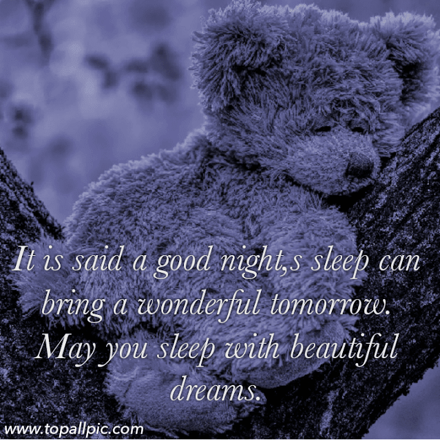 good night teddy bear quotes wallpaper