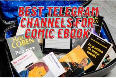 Best telegram channel for comic Ebooks