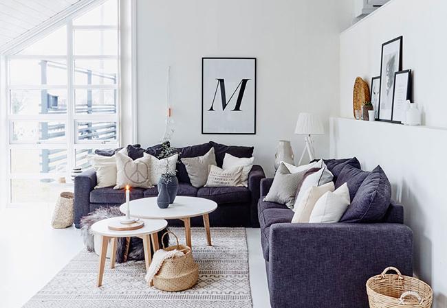 Una casa bonita, n�rdica, sencilla y con ideas, estilo y gracia!