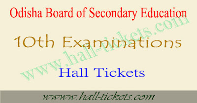 10th admit card 2018 Odisha download orissa board hsc hall ticket