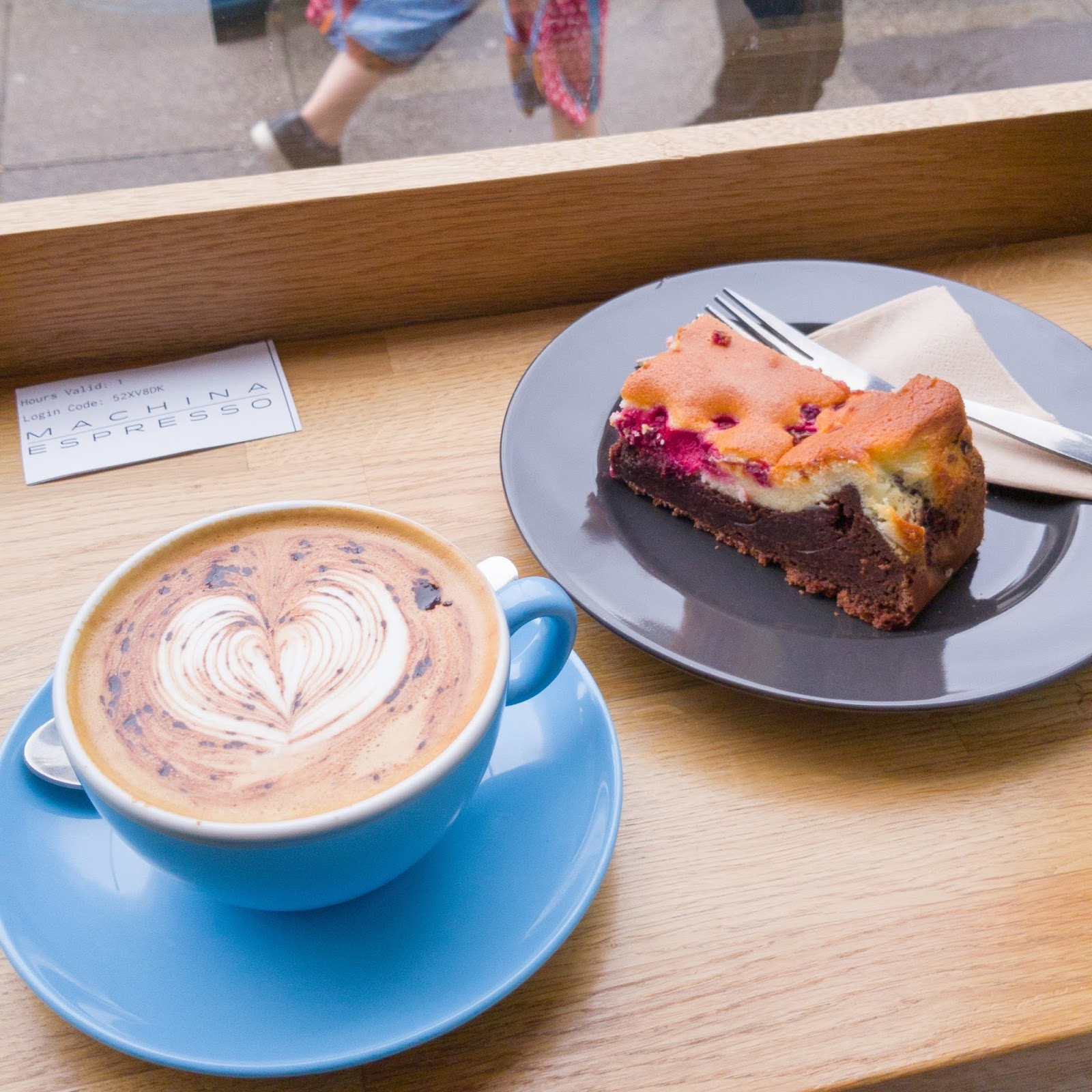 Edinburgh best coffee shops Machina Espresso for #CoffeeWeek