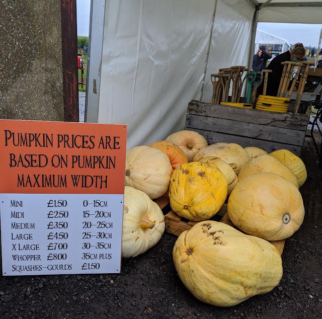 Pumpkin Prices at Spilmans Farm