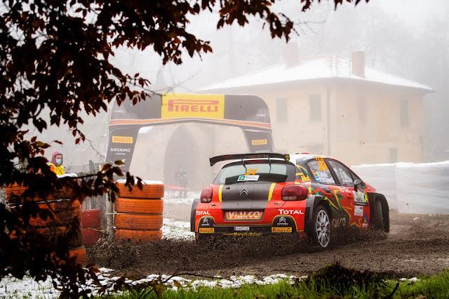 Citroen C3 R5 Rally Car at Monza Rally