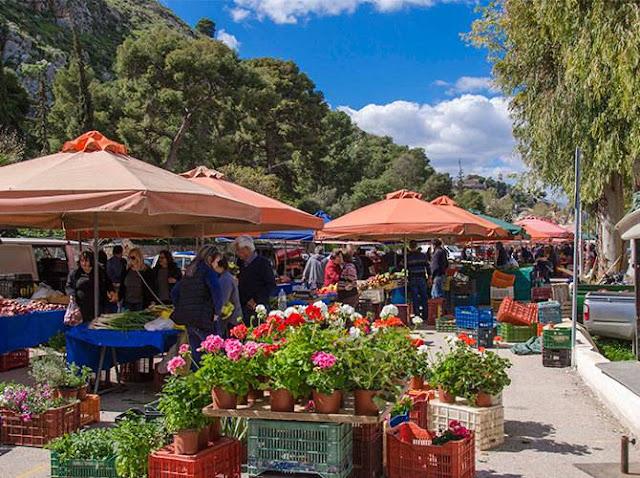 Ποιοι πωλητές θα στίσουν πάγκο το Σάββατο 11/4 στην λαϊκή αγορά του Ναυπλίου