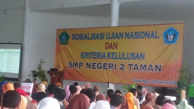 """Parenting """"SMPN Taman Sidoarjo Menjadi Orang Tua Dan Sahabat Pemimpin Masa Depan"""""""