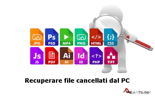 programmia per il recupero file cancellati dal pc, cerca file cancellati per il ripristino