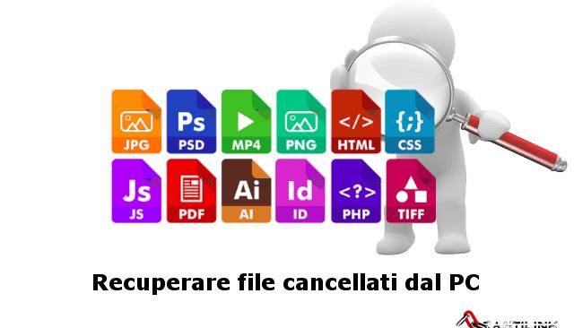 Come recuperare foto e video cancellati dal PC