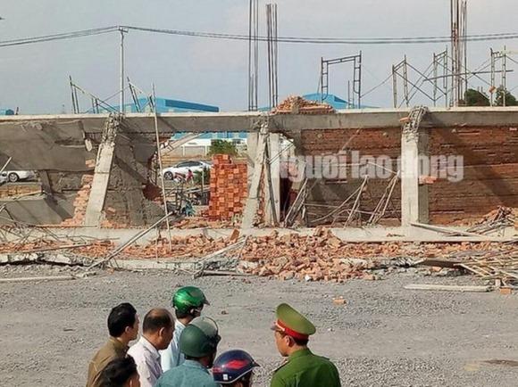 Nóng: Bắt khẩn cấp các đối tượng vụ sập tường ở Đồng Nai