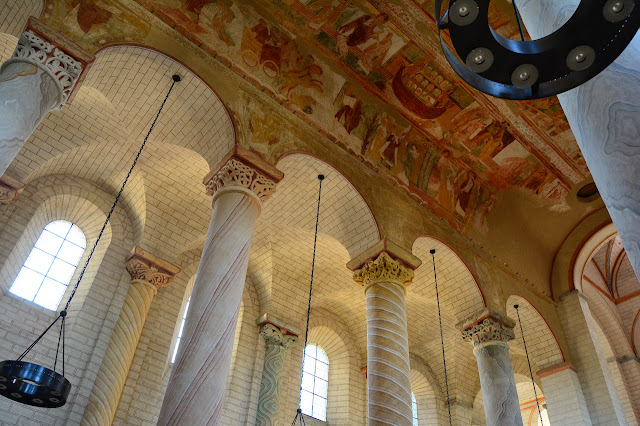 nef abbaye de Saint-Savin