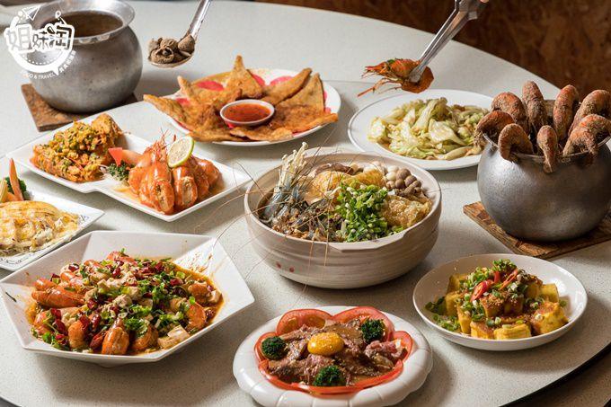 多達13種口味的泰國蝦料理!超美庭園式海鮮餐廳,不只占地大還有遊戲區,來溜小孩也很OK-四兩千金活蝦之家