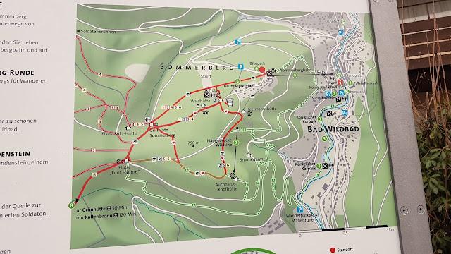 Wanderwege Sommerberg in Bad Wildbad