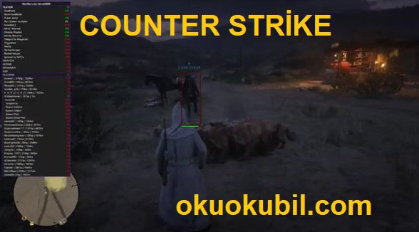 Counter Strike Red Dead Redemption 2  RDR2 Online  Mod Menu  Teleport, ESP Hilesi İndir