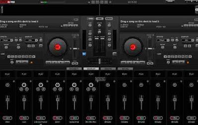 Aplikasi DJ PC virtual dj home