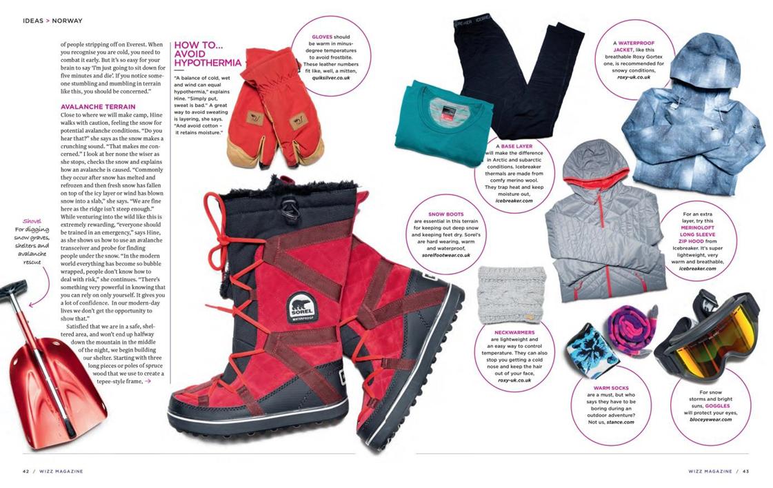 PR Quiksilver Inc : Wizz Air magazine highlights Roxy snow